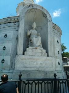 The Italian Association tomb