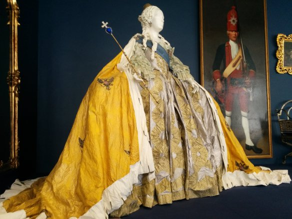 One of Elizabeth's gowns